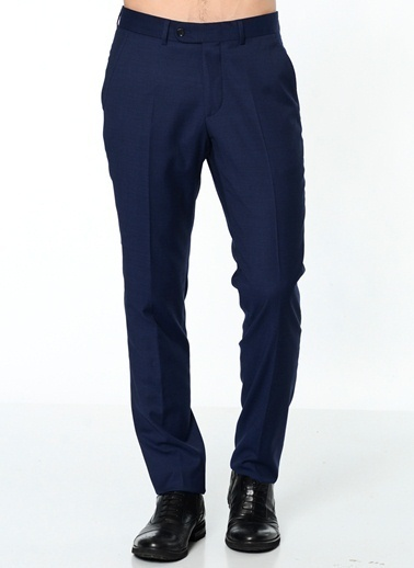 Daffari Dar Paça Kumaş Pantolon Lacivert